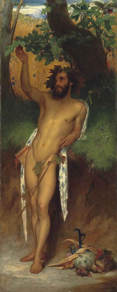 Frederic Leighton Pan, Kanvas Tablo, Frederic Leighton, kanvas tablo, canvas print sales