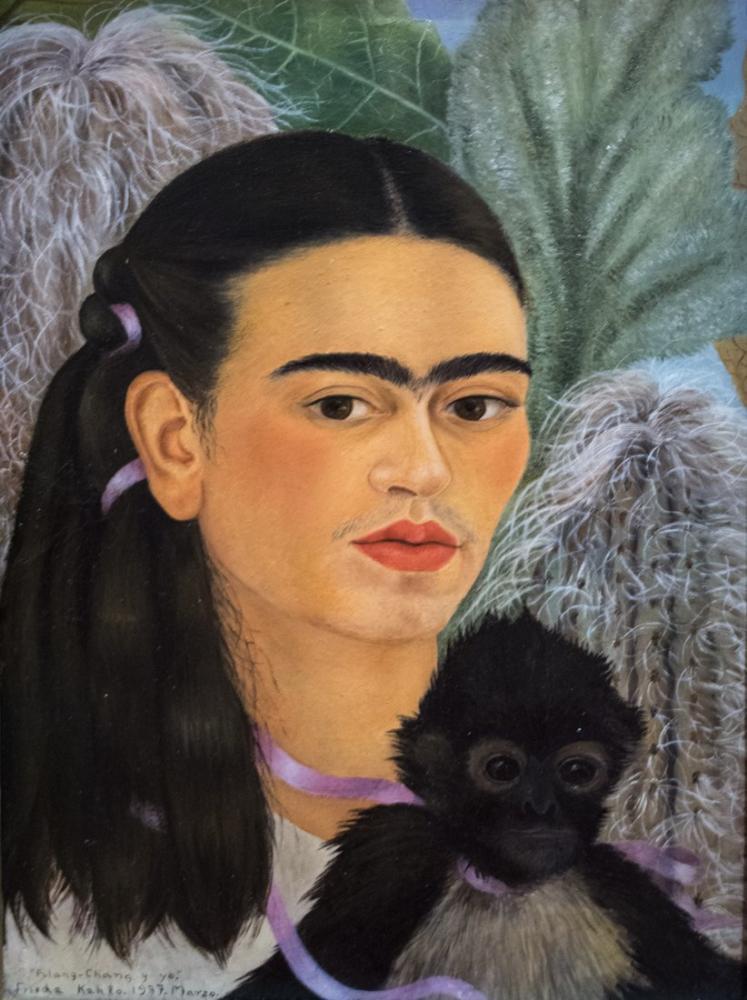 Frida Kahlo Fulang Chang Ve Ben, Kanvas Tablo, Frida Kahlo, kanvas tablo, canvas print sales