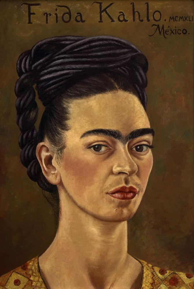 Frida Kahlo Otoportre, Kanvas Tablo, Frida Kahlo, kanvas tablo, canvas print sales