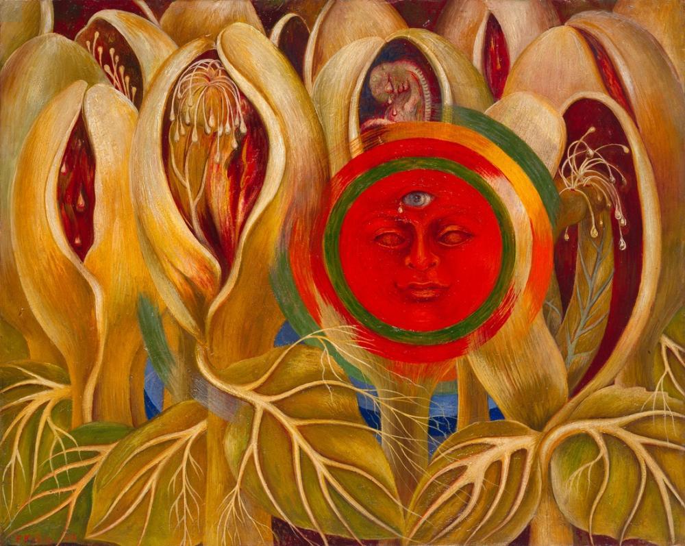Frida Kahlo Sun and Life, Figure, Frida Kahlo, kanvas tablo, canvas print sales