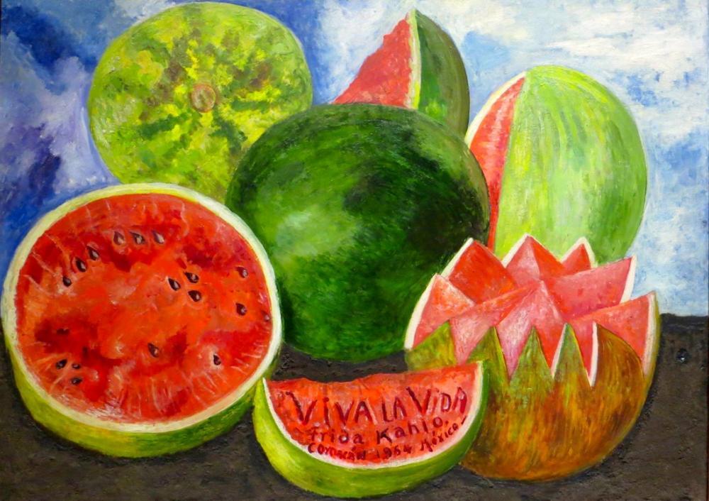 Frida Kahlo Hayatı Yaşa, Kanvas Tablo, Frida Kahlo, kanvas tablo, canvas print sales