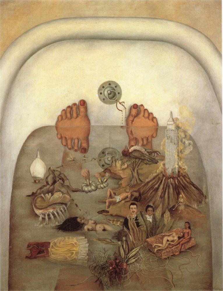 Frida Kahlo Su Bana Ne Verdi, Kanvas Tablo, Frida Kahlo, kanvas tablo, canvas print sales