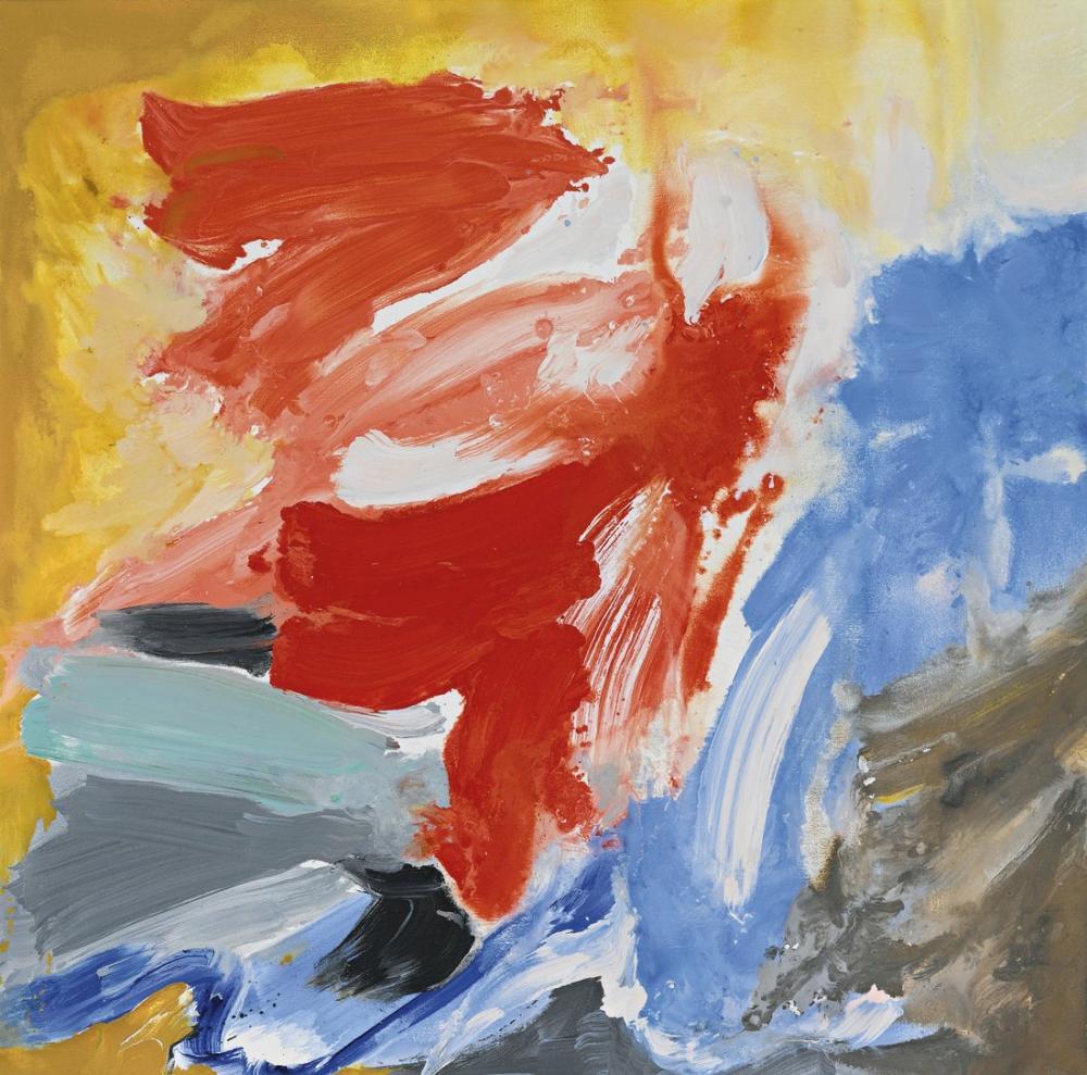 Friedel Dzubas Dead Bird, Canvas, Friedel Dzubas, kanvas tablo, canvas print sales