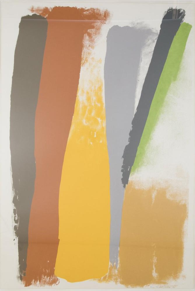 Friedel Dzubas Lithograph, Canvas, Friedel Dzubas, kanvas tablo, canvas print sales