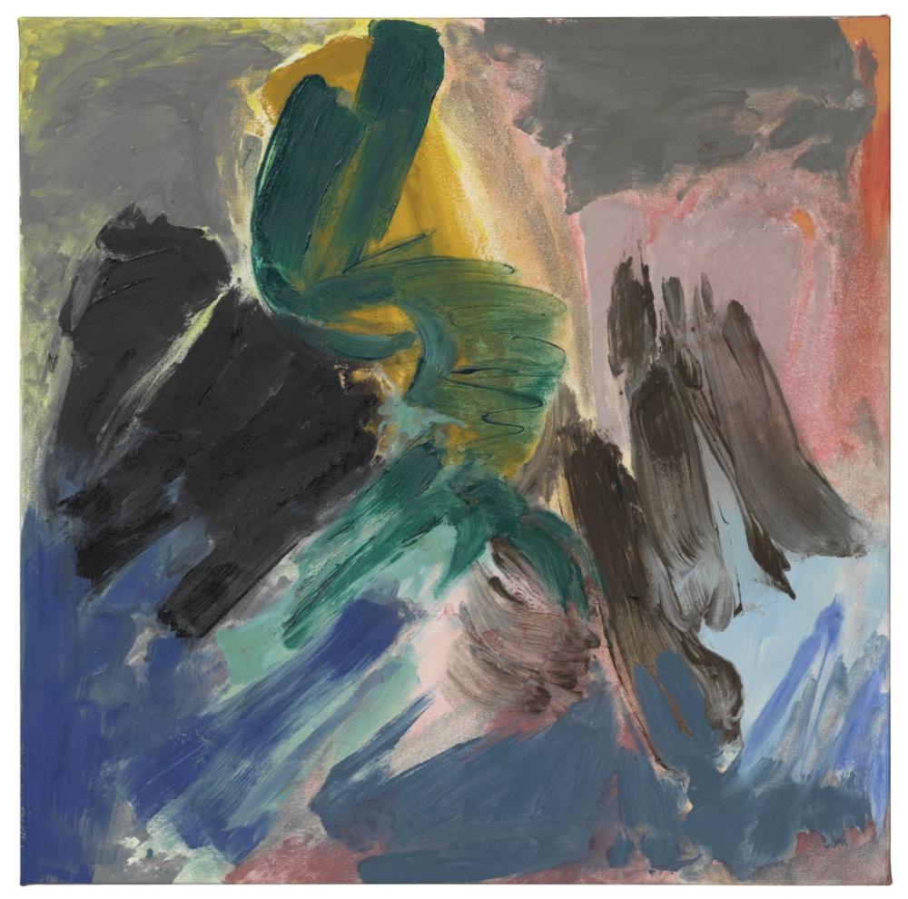 Friedel Dzubas Soft Centre, Canvas, Friedel Dzubas, kanvas tablo, canvas print sales