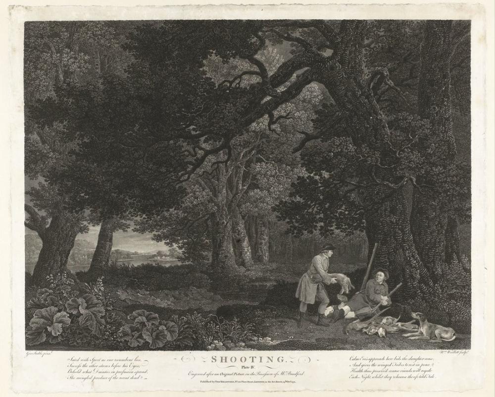 George Stubbs, Atış Tabağı IV, Kanvas Tablo, George Stubbs, kanvas tablo, canvas print sales