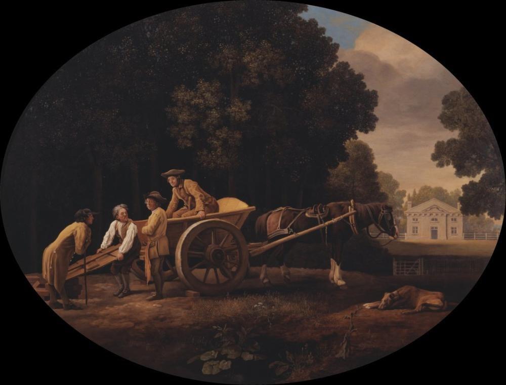 George Stubbs, Labourers, Canvas, George Stubbs, kanvas tablo, canvas print sales