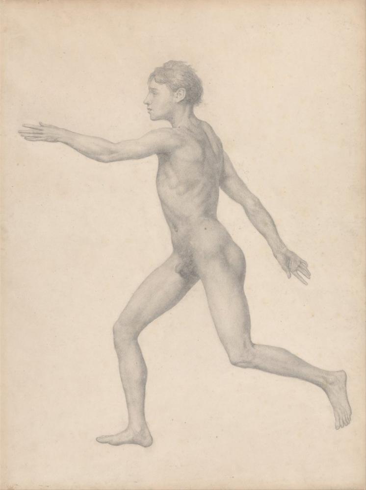 George Stubbs, Human Body III, Figure, George Stubbs, kanvas tablo, canvas print sales