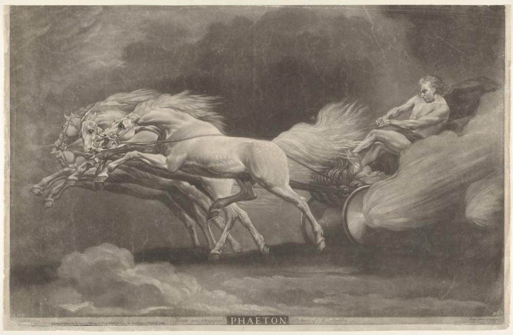 George Stubbs, Phaeton, Canvas, George Stubbs, kanvas tablo, canvas print sales