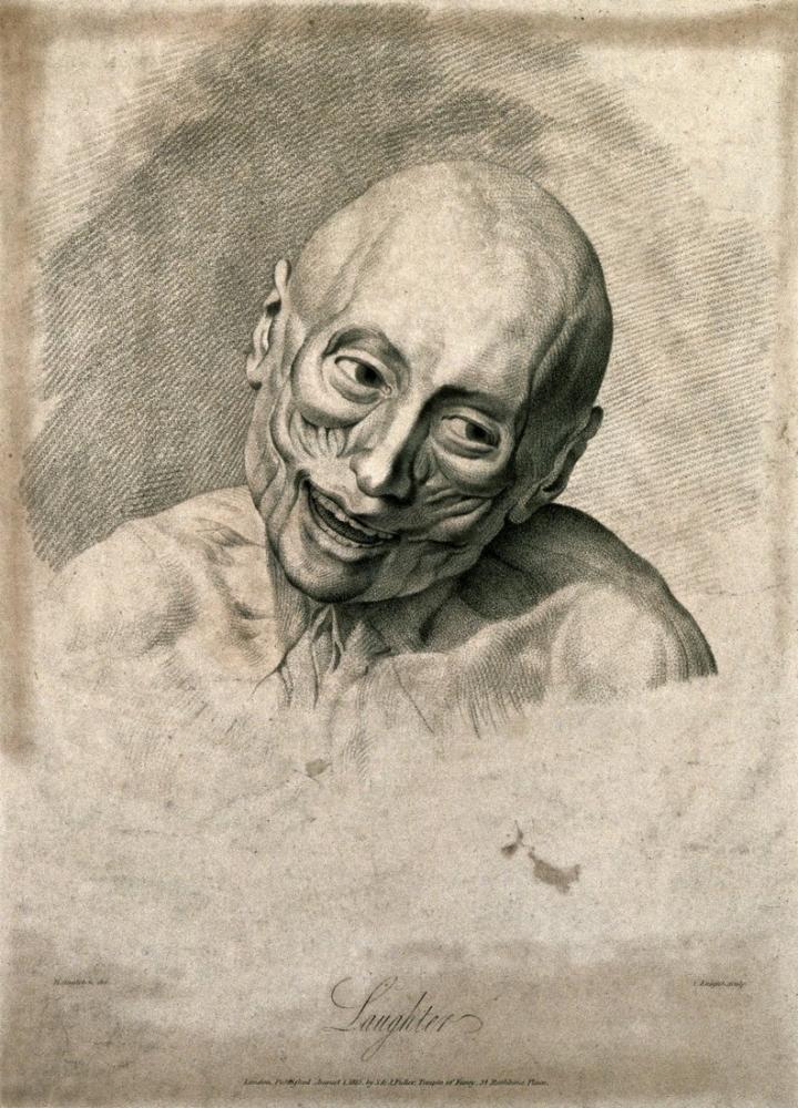 George Stubbs, Duri Yüz Kaslarının Durumunu Gösteren Bir Yüzülmüş Yüz, Figür, George Stubbs, kanvas tablo, canvas print sales