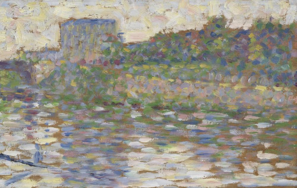 Georges Seurat, Seine Courbevoie, Kanvas Tablo, Georges Seurat, kanvas tablo, canvas print sales