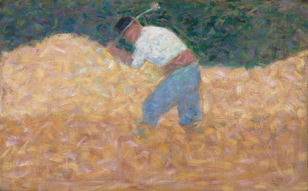 Georges Seurat, The Stone Breaker, Canvas, Georges Seurat, kanvas tablo, canvas print sales