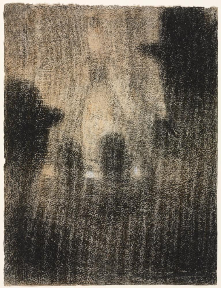Georges Seurat, Café Concert, Figure, Georges Seurat, kanvas tablo, canvas print sales
