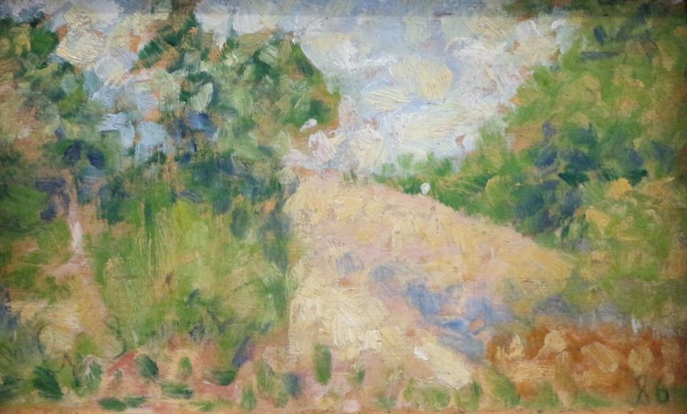 Georges Seurat, George Paesaggio Rosa, Canvas, Georges Seurat, kanvas tablo, canvas print sales