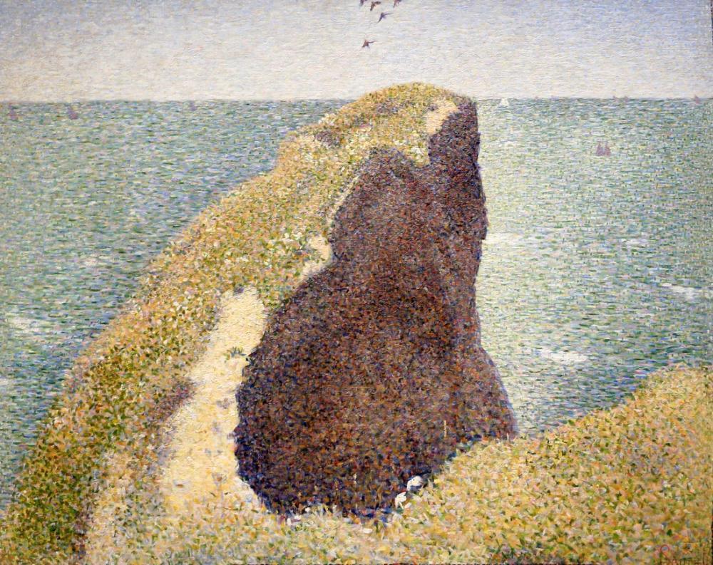 Georges Seurat, Hoc Büyük Kamp Burnu, Kanvas Tablo, Georges Seurat, kanvas tablo, canvas print sales