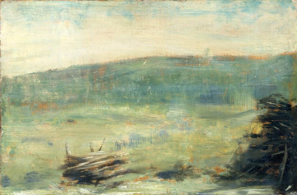 Georges Seurat, Saint Ouen Manzara, Kanvas Tablo, Georges Seurat, kanvas tablo, canvas print sales