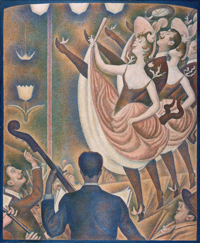 Georges Seurat, Le Chahut, Kanvas Tablo, Georges Seurat, kanvas tablo, canvas print sales
