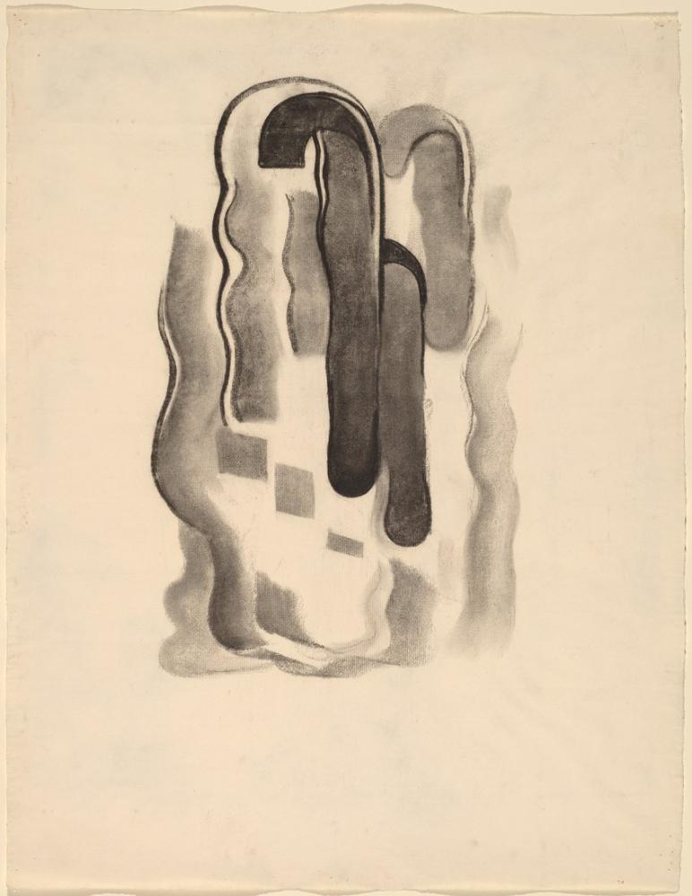 Georgia O Keeffe, No: VII Özel 1915, Kanvas Tablo, Georgia O Keeffe, kanvas tablo, canvas print sales
