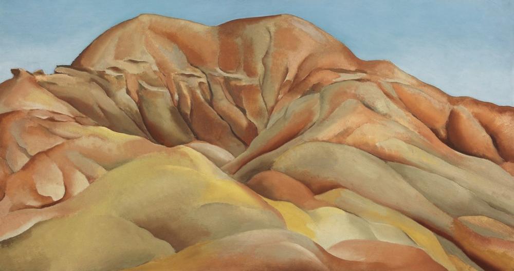 Georgia O Keeffe, Old Santa Fe Yolunda, Kanvas Tablo, Georgia O Keeffe, kanvas tablo, canvas print sales