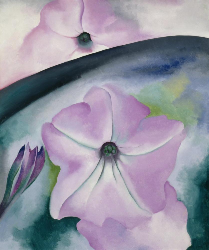 Georgia O Keeffe, Petunya No: II, Kanvas Tablo, Georgia O Keeffe, kanvas tablo, canvas print sales