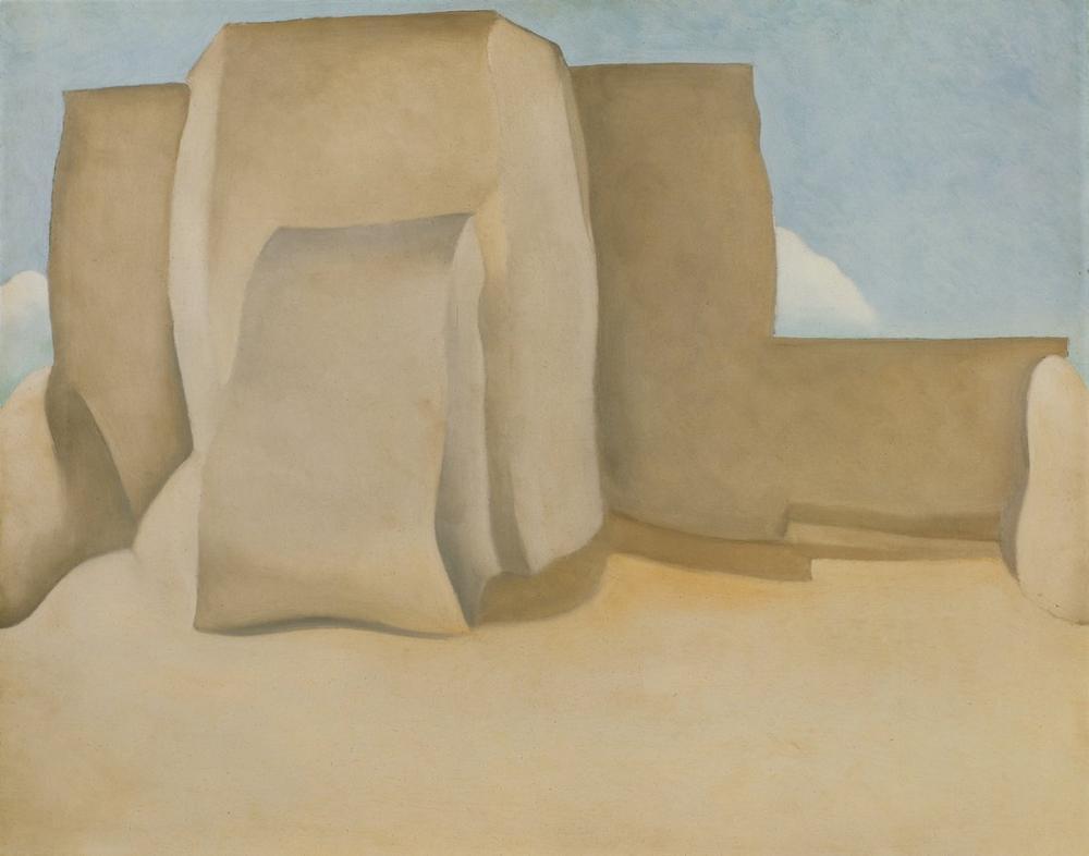 Georgia O Keeffe, Rancho Church, Canvas, Georgia O Keeffe, kanvas tablo, canvas print sales