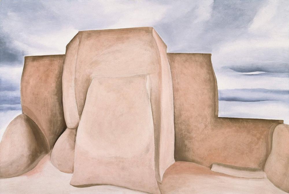 Georgia O Keeffe, Rancho Kilisesi, Kanvas Tablo, Georgia O Keeffe, kanvas tablo, canvas print sales