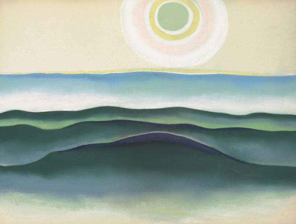 Georgia O Keeffe, Sun Water Maine, Canvas, Georgia O Keeffe, kanvas tablo, canvas print sales