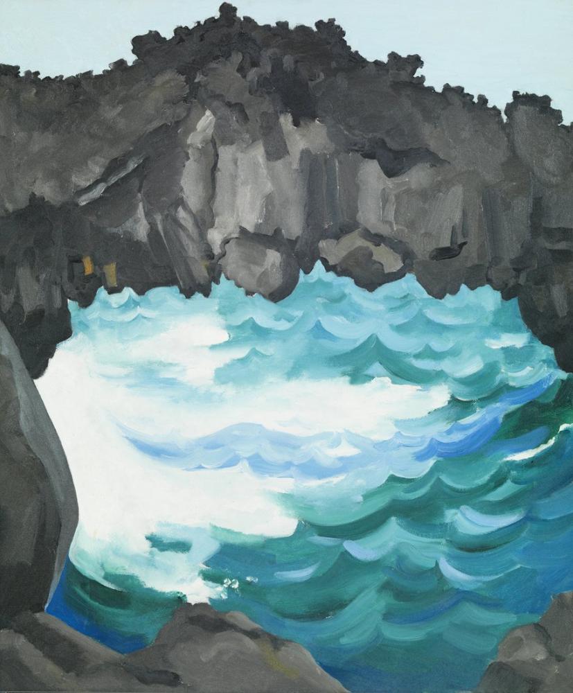 Georgia O Keeffe, Black Lava Bridge, Canvas, Georgia O Keeffe, kanvas tablo, canvas print sales