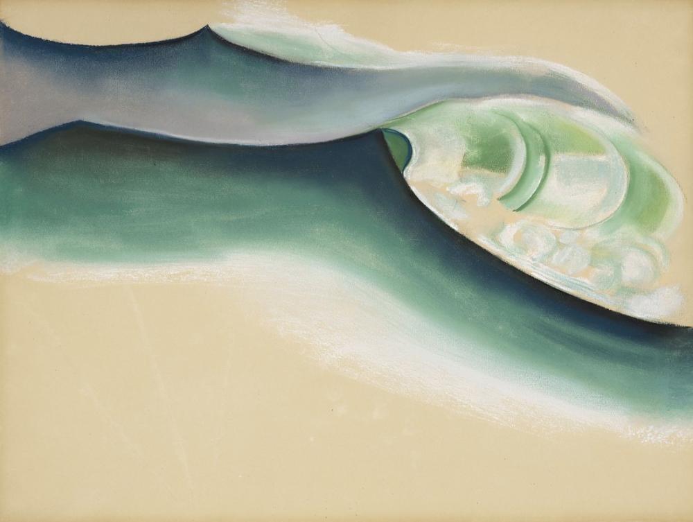 Georgia O Keeffe, Wave, Canvas, Georgia O Keeffe, kanvas tablo, canvas print sales