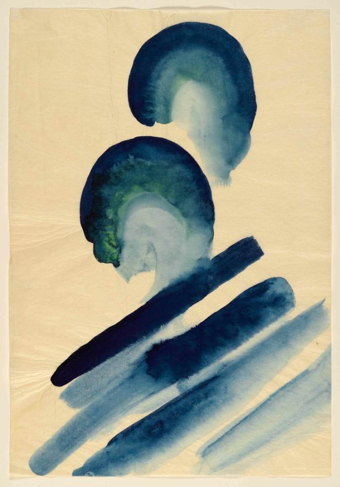 Georgia O Keeffe, Mavi, Kanvas Tablo, Georgia O Keeffe, kanvas tablo, canvas print sales