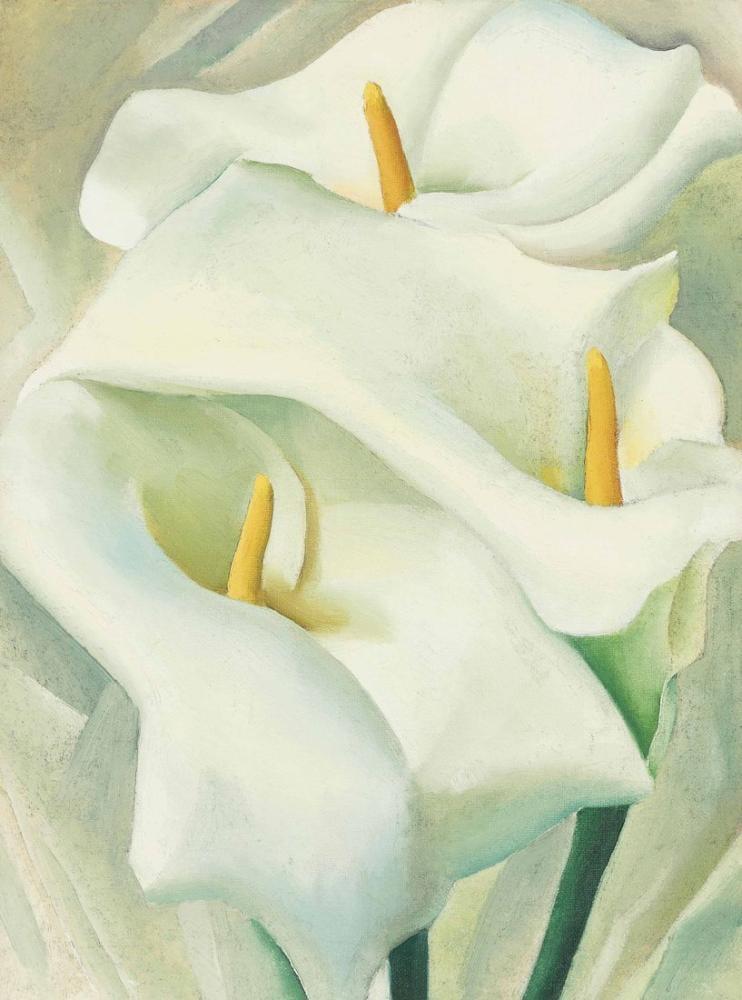Gürcistan O Keeffe, Kalla Zambak III, Kanvas Tablo, Georgia O Keeffe, kanvas tablo, canvas print sales