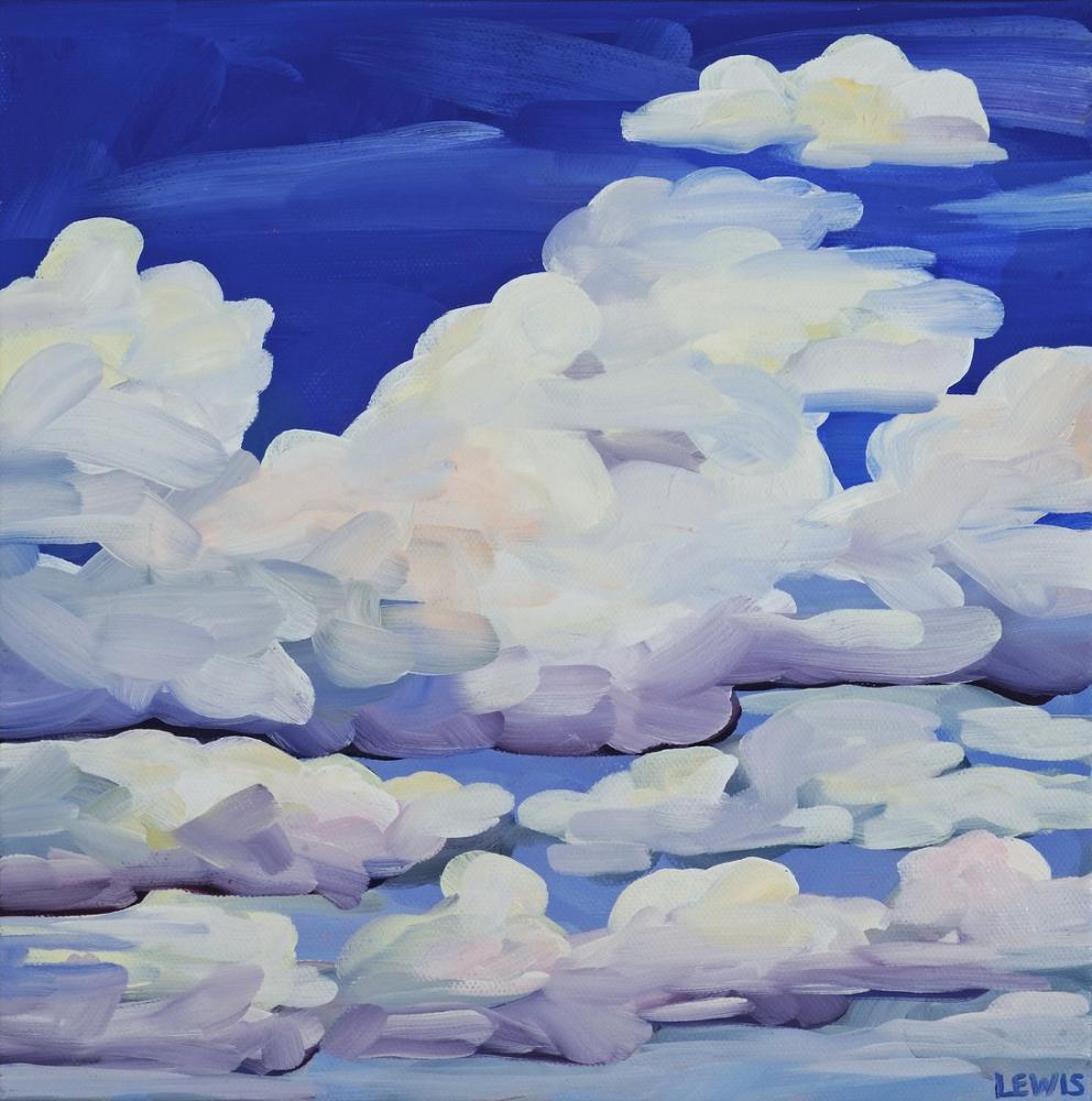 Georgia O Keeffe, Bulutlar, Kanvas Tablo, Georgia O Keeffe, kanvas tablo, canvas print sales