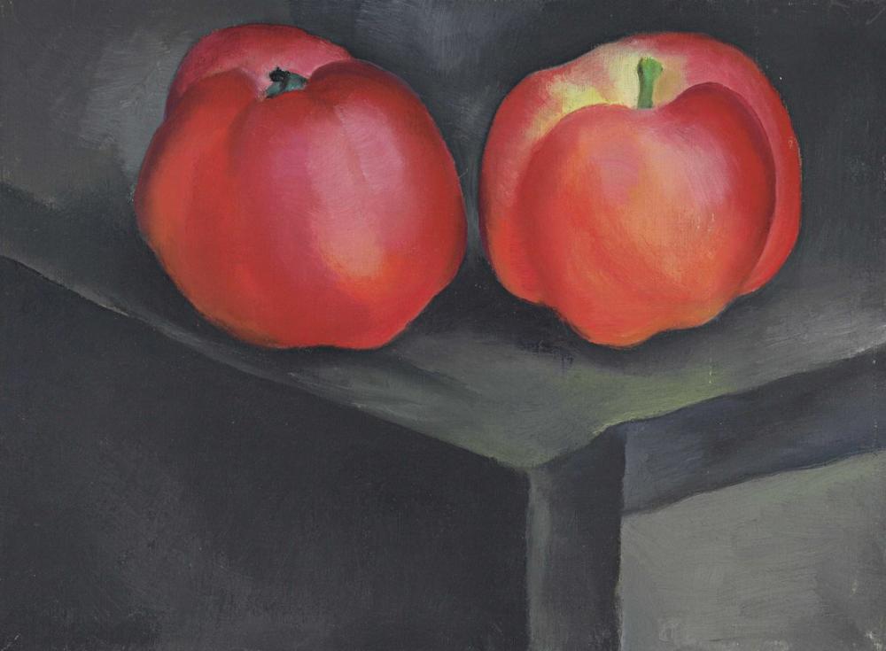 Georgia O Keeffe, Apples No: I, Canvas, Georgia O Keeffe, kanvas tablo, canvas print sales