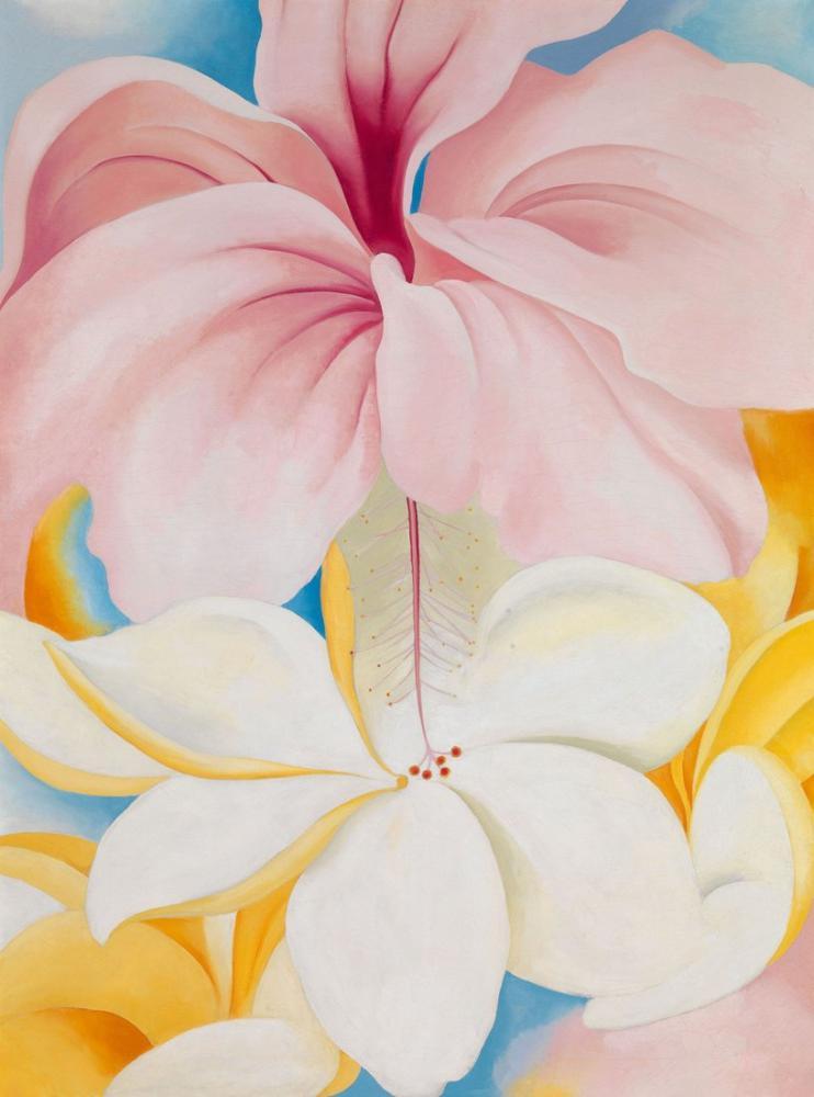 Georgia O Keeffe, Hibiscus, Canvas, Georgia O Keeffe, kanvas tablo, canvas print sales