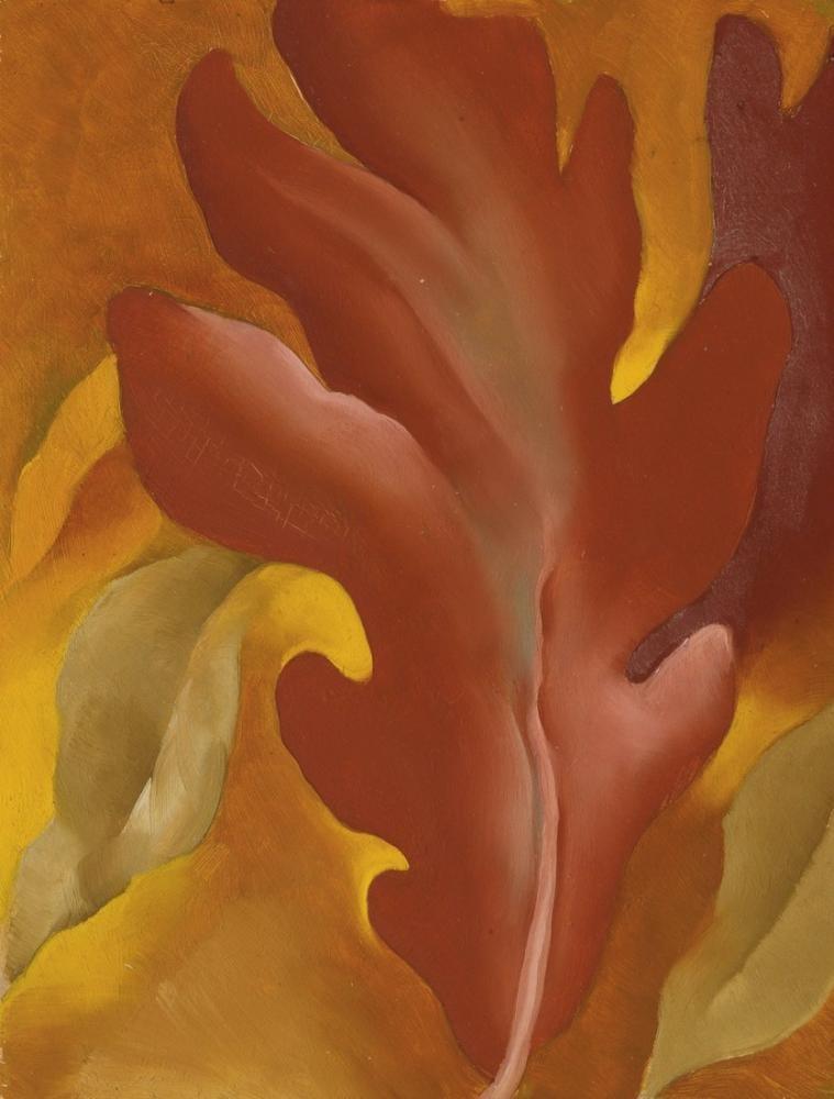 Georgia O Keeffe, Sonbahar, Kanvas Tablo, Georgia O Keeffe, kanvas tablo, canvas print sales