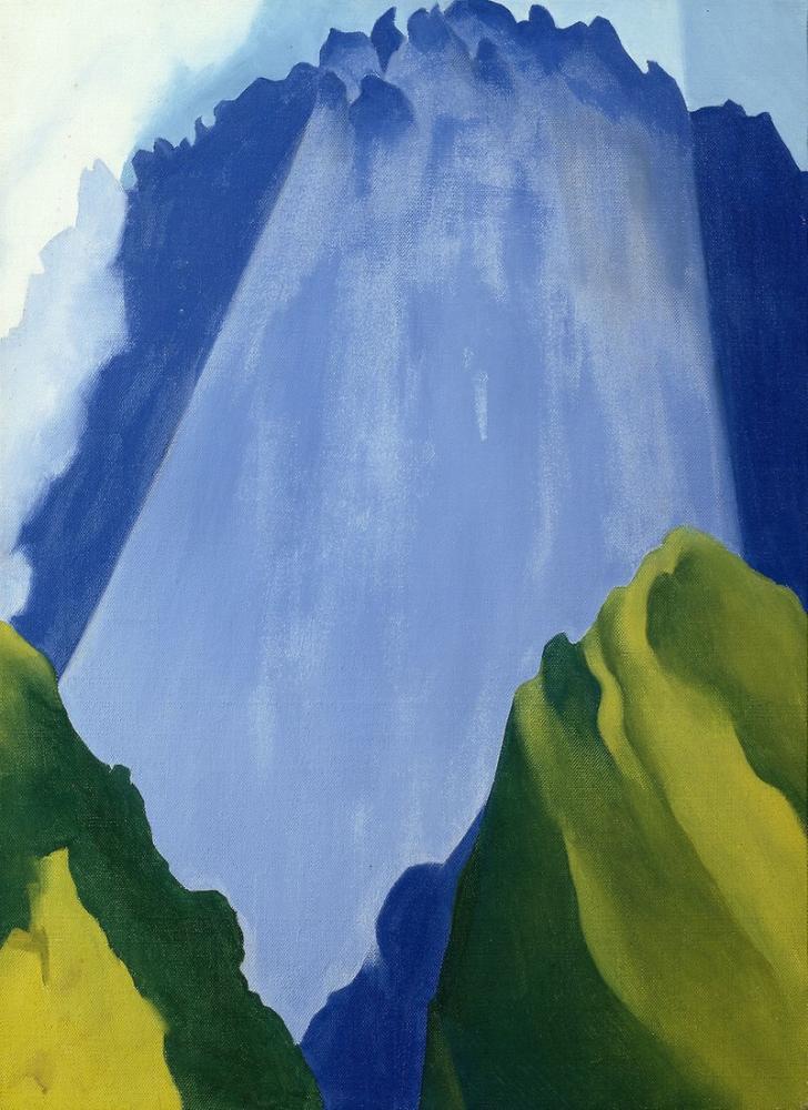 Georgia O Keeffe, Machu Picchu, Kanvas Tablo, Georgia O Keeffe, kanvas tablo, canvas print sales