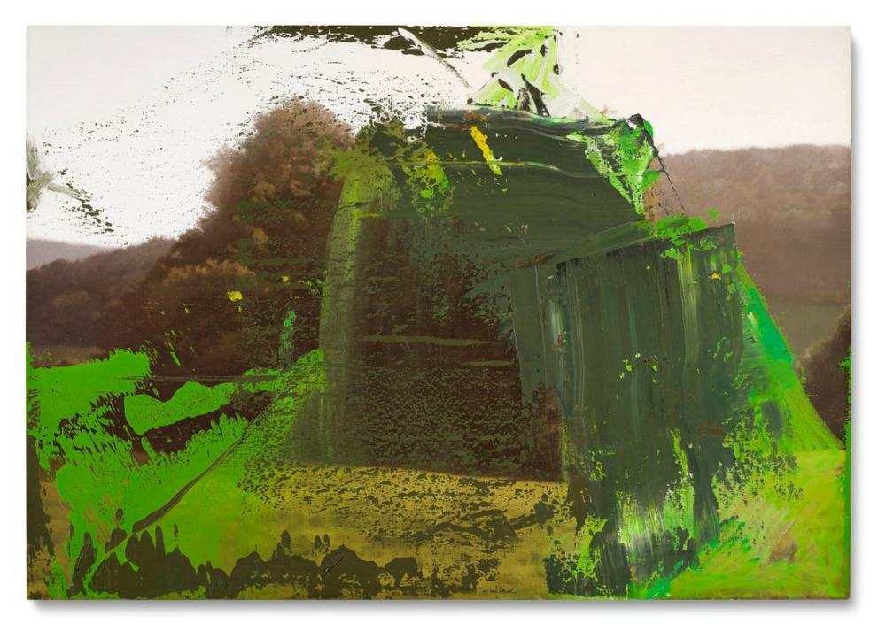 Gerhard Richter, Ağaç Grubu, Kanvas Tablo, Gerhard Richter, kanvas tablo, canvas print sales