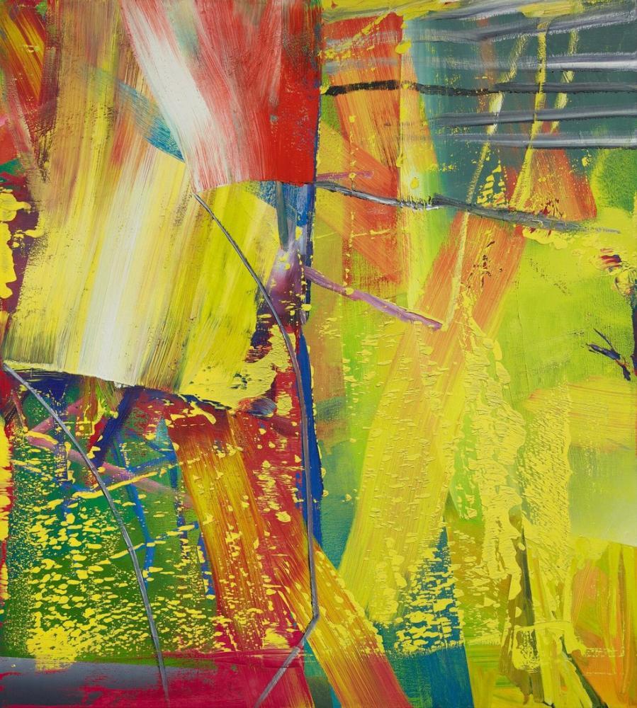 Gerhard Richter, Mum Işığı, Kanvas Tablo, Gerhard Richter, kanvas tablo, canvas print sales