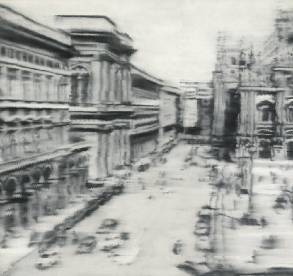 Gerhard Richter, Milano Katedrali Meydanı, Kanvas Tablo, Gerhard Richter, kanvas tablo, canvas print sales