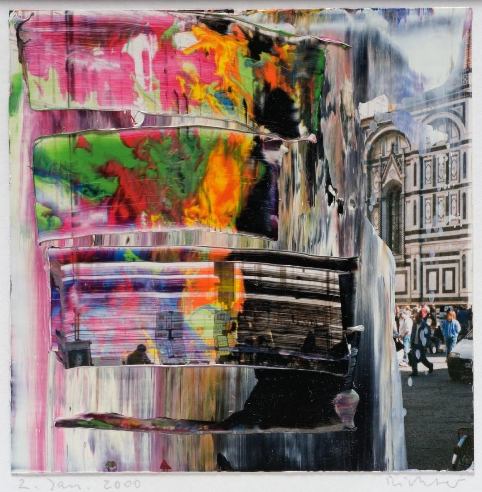 Gerhard Richter, Firenze, Kanvas Tablo, Gerhard Richter, kanvas tablo, canvas print sales