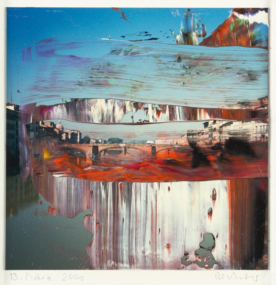 Gerhard Richter, Floransa 13, Kanvas Tablo, Gerhard Richter, kanvas tablo, canvas print sales