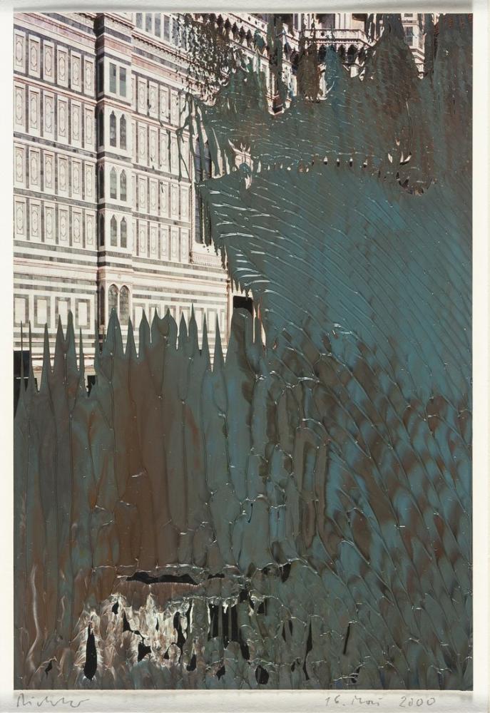 Gerhard Richter, Floransa Katedrali, Kanvas Tablo, Gerhard Richter, kanvas tablo, canvas print sales