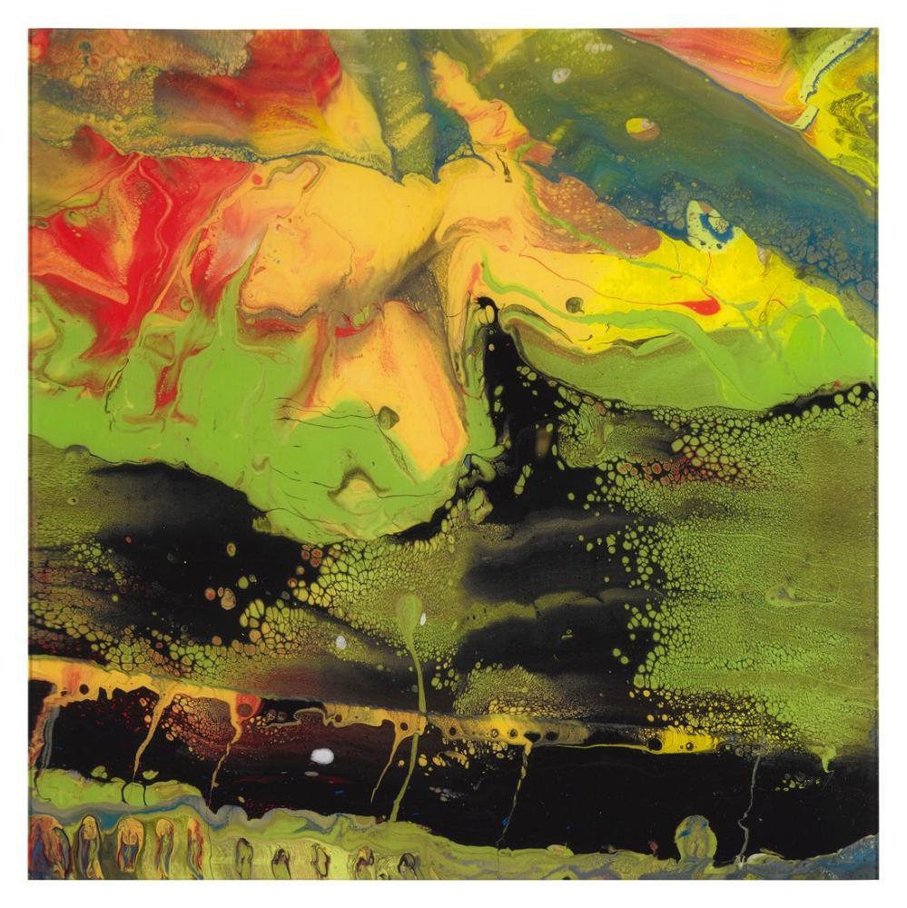 Gerhard Richter, Akış P4, Kanvas Tablo, Gerhard Richter, kanvas tablo, canvas print sales