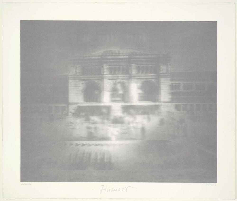 Gerhard Richter, Hannover 1967, Kanvas Tablo, Gerhard Richter, kanvas tablo, canvas print sales