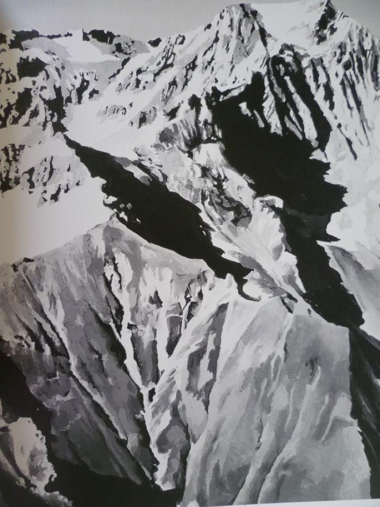 Gerhard Richter, Himalaya, Kanvas Tablo, Gerhard Richter, kanvas tablo, canvas print sales