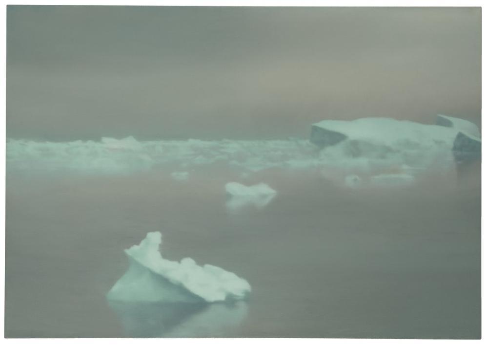 Gerhard Richter, Buz, Kanvas Tablo, Gerhard Richter, kanvas tablo, canvas print sales