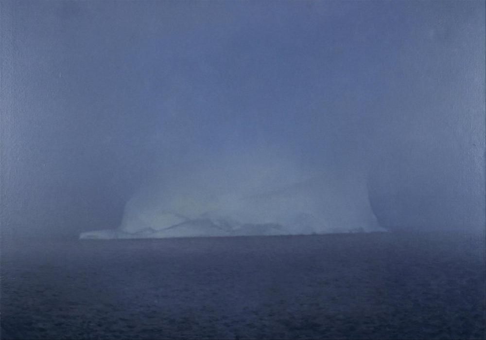 Gerhard Richter, Buzdağı ve Puslu, Kanvas Tablo, Gerhard Richter, kanvas tablo, canvas print sales
