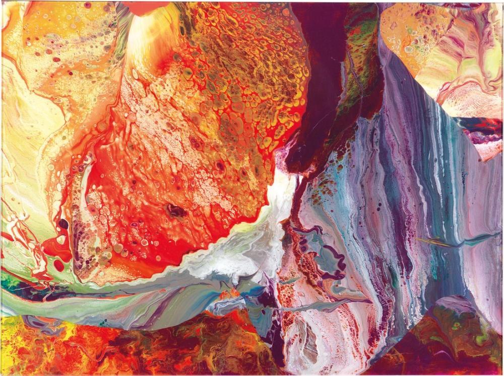 Gerhard Richter, Ifrit p8, Kanvas Tablo, Gerhard Richter, kanvas tablo, canvas print sales