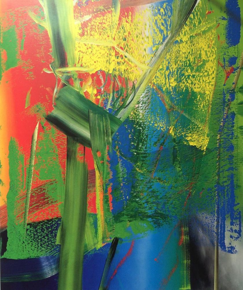 Gerhard Richter, Janus, Kanvas Tablo, Gerhard Richter, kanvas tablo, canvas print sales