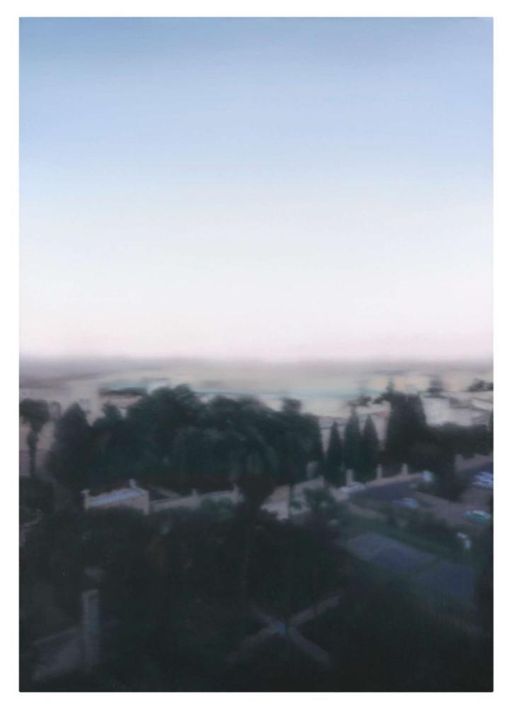 Gerhard Richter, Jerusalem 1995, Kanvas Tablo, Gerhard Richter, kanvas tablo, canvas print sales